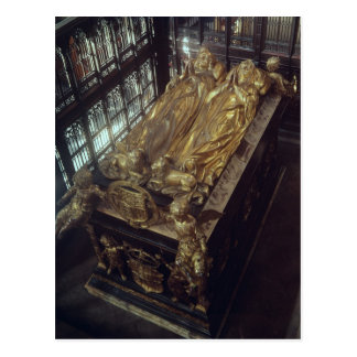 Tomb of Henry VII  and his Wife Postcard