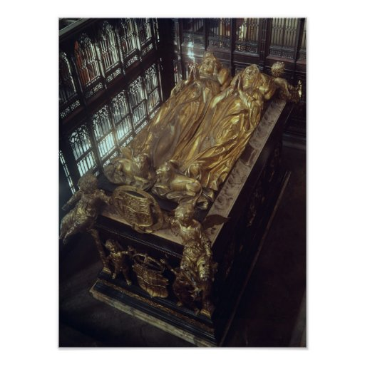 Tomb of Henry VII  and his Wife Posters