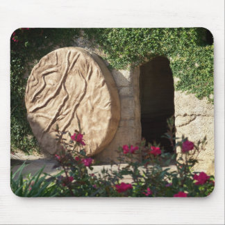 Tomb of Jesus Easter Ressurection Mousepad Art