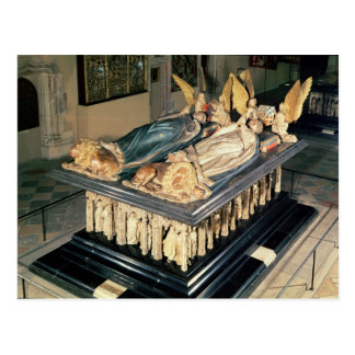 Tomb of John the Fearless  and Margaret of Postcard