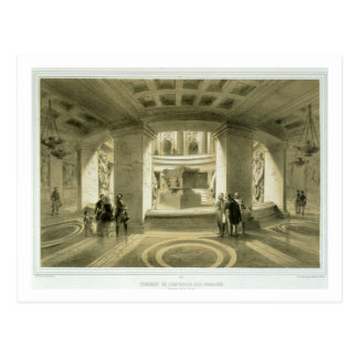 Tomb of Napoleon (1769-1821) at Invalides, from 'P Postcard