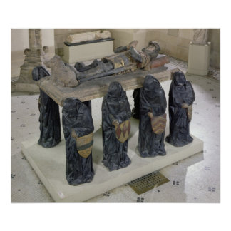 Tomb of Philippe Pot Poster