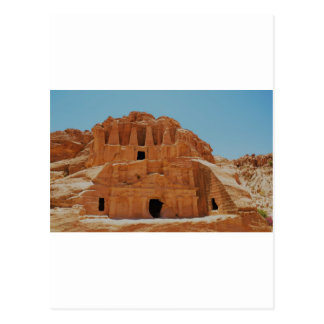 Tomb of the obelisks Petra Postcard