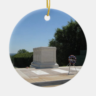 Tomb of the Unknown Soldier Ceramic Ornament