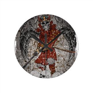 Tomb Stone Scary King Wall Clocks