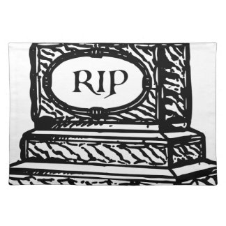 Tombstone Placemat