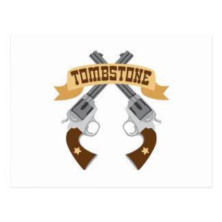 Tombstone Postcard