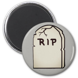 tombstone R.I.P Magnet
