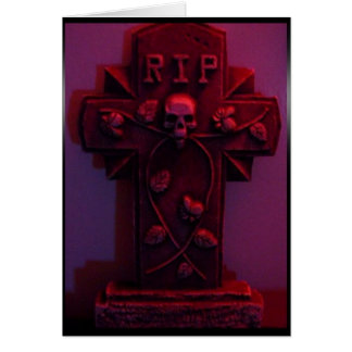 tombstone red Card