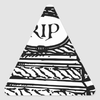 Tombstone Triangle Sticker