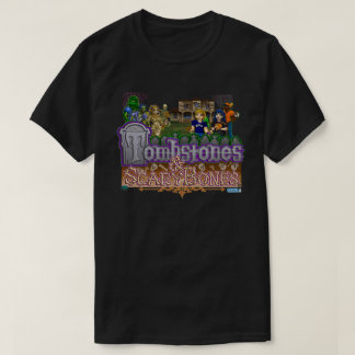 Tombstones & ScaryBones Official Game T-shirt