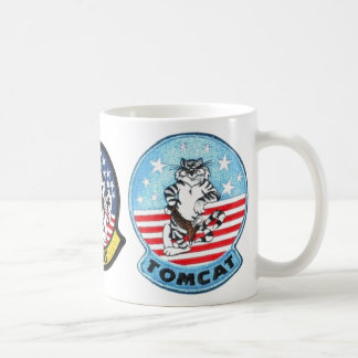 TOMCAT F-14 -- THE FINEST THAT EVER FLEW CLASSIC WHITE COFFEE MUG