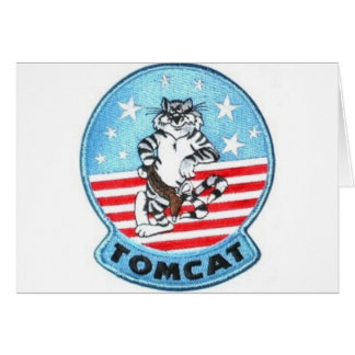 TOMCAT F-14 -- THE FINEST THAT EVER FLEW GREETING CARD