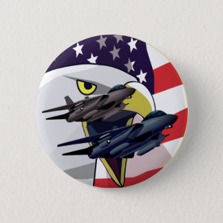 Tomcats and Eagle 2 Inch Round Button