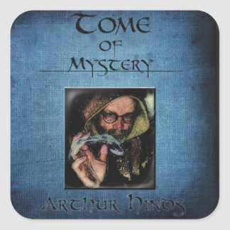 Tome of Mystery cove sticker