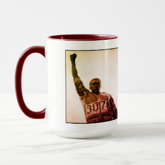 Tommie Smith - this is San Jose CA ... mug