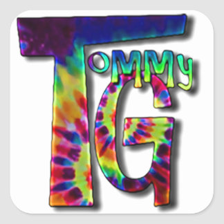 Tommy G Stickers! Square Sticker