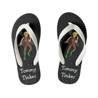 Tommy Tinker Custom Flip Flops, Kids Kid's Flip Flops