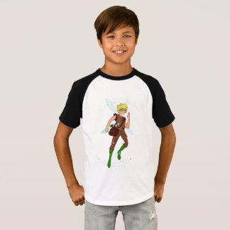 Tommy Tinker Kids' Short Sleeve Raglan T-Shirt