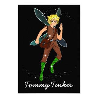 "Tommy Tinker Matte 3.5"" x 5"" Invitation Card"