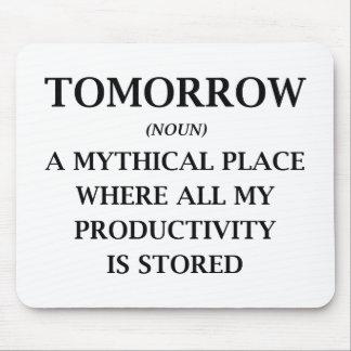 Tomorrow Mouse Pad
