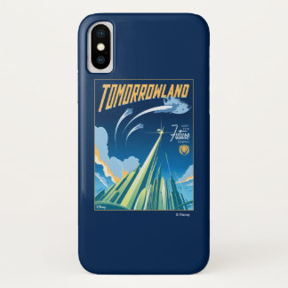 Tomorrowland: Visit The Future Today iPhone X Case