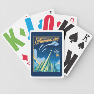 Tomorrowland: Visit The Future Today Poker Deck