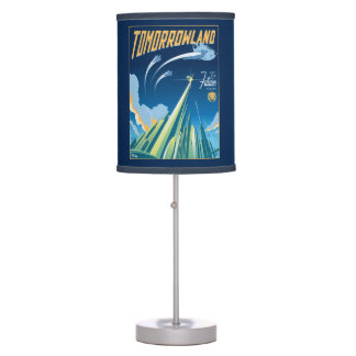 Tomorrowland: Visit The Future Today Table Lamp