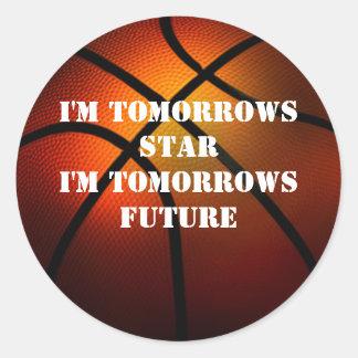 Tomorrows Star Tomorrows Future Basketball Sticker