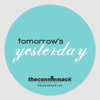 Tomorrow's Yesterday Sticker