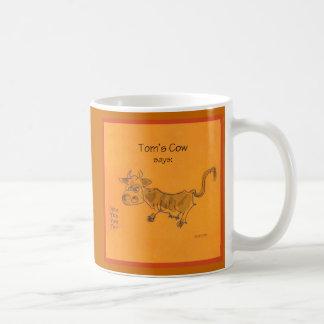 Tom's Cow Coffee Mug