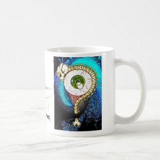 TOMSAC Graphics - EYE BALL QUESTION MARK. Coffee Mug