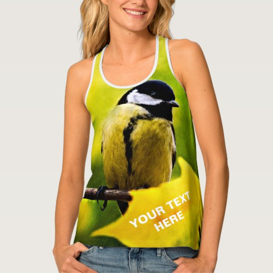 Tomtit - Dressed To The Season Tank Top