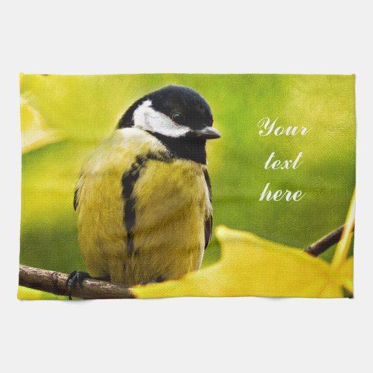 Tomtit - Dressed To The Season Towel