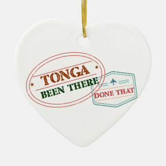 Tonga Been There Done That Ceramic Ornament