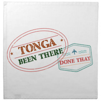 Tonga Been There Done That Napkin
