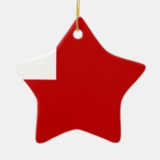 Tonga Ceramic Star Ornament