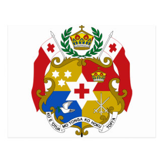 Tonga Coat of Arms Postcard
