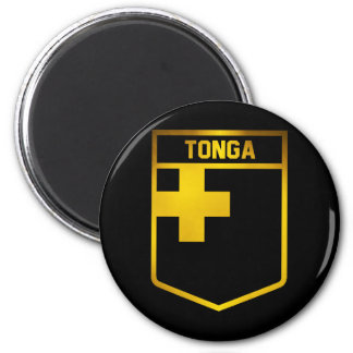 Tonga Emblem 2 Inch Round Magnet