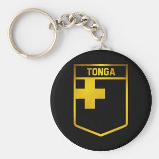 Tonga Emblem Keychain