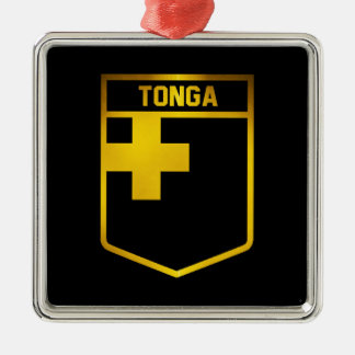 Tonga Emblem Metal Ornament