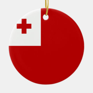 Tonga Flag Ceramic Ornament