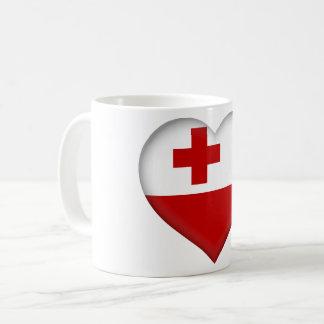 Tonga Flag Coffee Mug