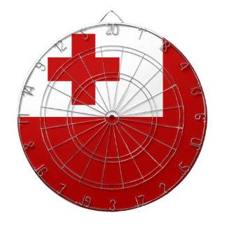 Tonga Flag Dartboard