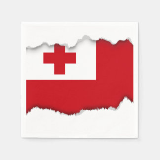 Tonga Flag Disposable Napkin