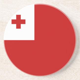Tonga Flag Drink Coasters