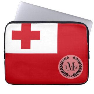 Tonga Flag Laptop Sleeve