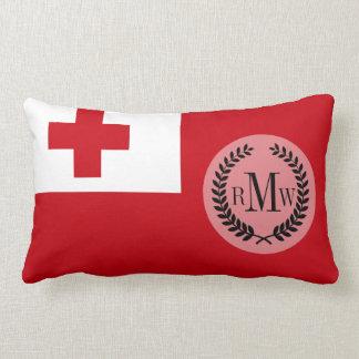 Tonga Flag Lumbar Pillow