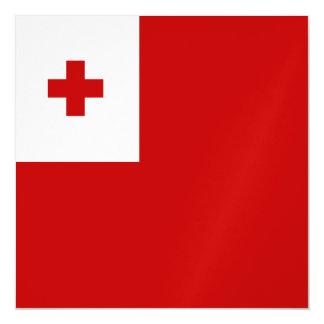 Tonga Flag Magnetic Invitations