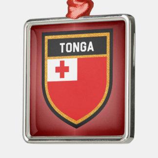 Tonga Flag Metal Ornament